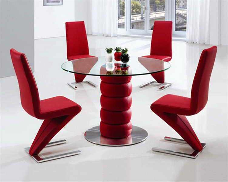 Red Dining Table Set – Castrophotos Within Well Known Red Dining Table Sets (Gallery 8 of 20)