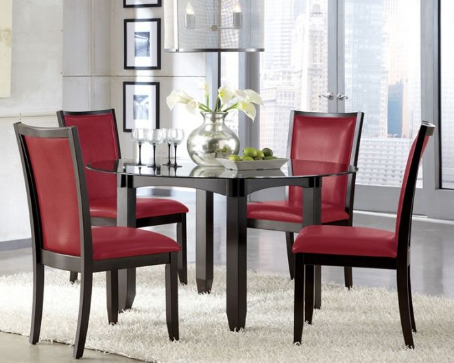 Red Dining Table Sets For Favorite Red Dining Chairs: Red Dining Chairs G Chairs Entrancing Furniture (View 5 of 20)