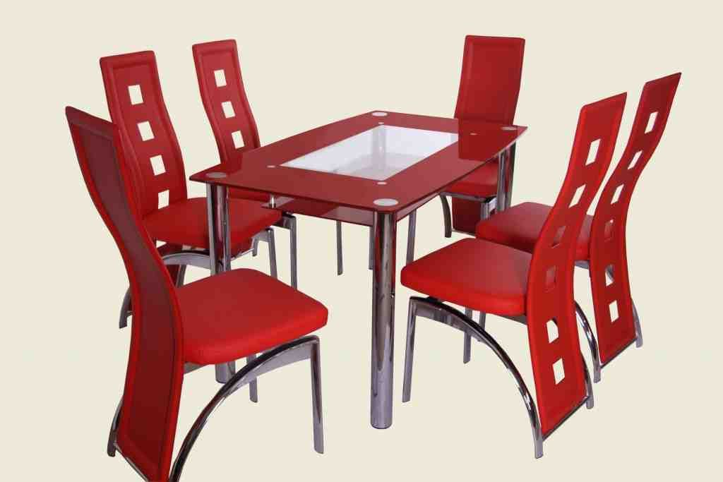 Red Kitchen Table And Chairs (View 16 of 20)