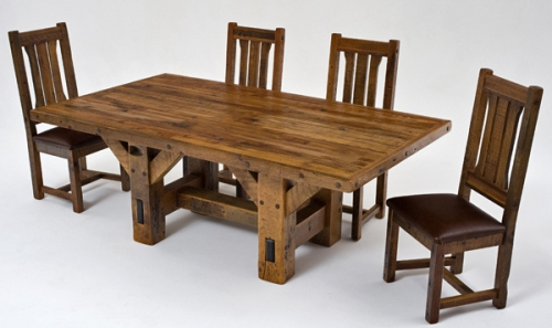 Refined Rustic Dining Table #4 – Urdezign Lugar With Regard To Popular Rustic Dining Tables (View 14 of 20)