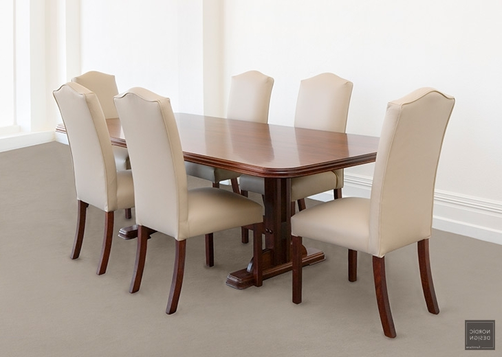 Regent – Nordic Design In Bordeaux Dining Tables (View 17 of 20)