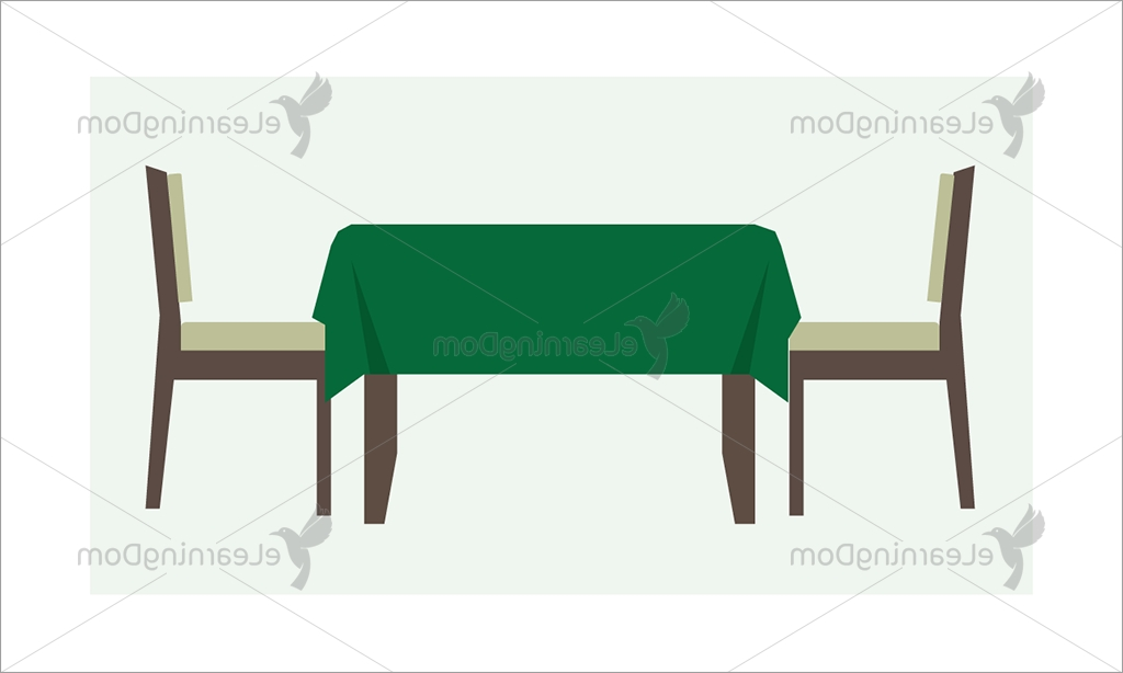 Restaurant Table With Two Chairs – Elearningdom For Most Up To Date Dom Side Chairs (View 17 of 20)