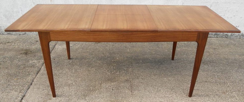 Retro Extending Dining Tables With Regard To Most Current 1960 S Retro Teak Extending Dining Table To Seat Eight – Sold (View 6 of 20)
