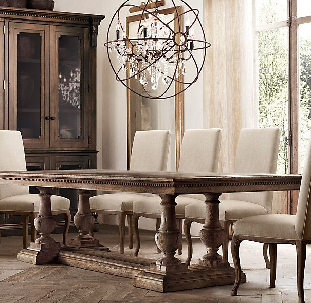 Rh's St. James Rectangular Extension Dining Table:reimagining With Regard To Best And Newest Helms 7 Piece Rectangle Dining Sets With Side Chairs (Gallery 17 of 20)