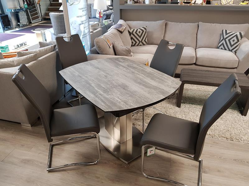 Rio,extending Set, Sale,special Offer, Limited Stock, Discount Regarding Well Liked Rocco Extension Dining Tables (View 9 of 20)