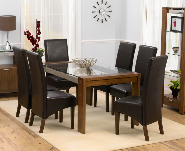 [%Roma Walnut & Glass Dining Table Set [301187] – £899.00 : Nu Trend In Favorite Roma Dining Tables And Chairs Sets|Roma Dining Tables And Chairs Sets Pertaining To Most Popular Roma Walnut & Glass Dining Table Set [301187] – £899.00 : Nu Trend|Most Recently Released Roma Dining Tables And Chairs Sets With Roma Walnut & Glass Dining Table Set [301187] – £899.00 : Nu Trend|Well Known Roma Walnut & Glass Dining Table Set [301187] – £ (View 1 of 20)