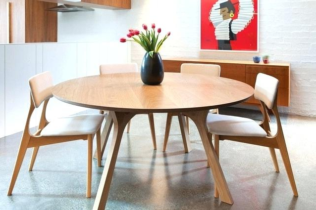 Round 6 Person Dining Tables Inside Widely Used 6 Person Round Dining Table – Bcrr (View 13 of 20)