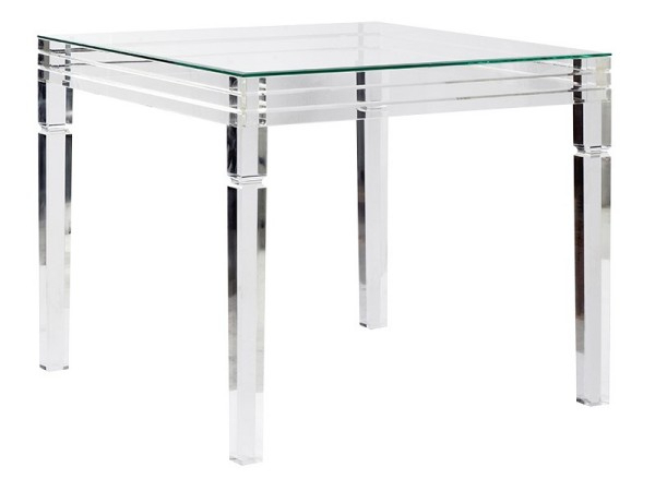 Round Acrylic Dining Tables Regarding Popular Clear Acrylic Contemporary Furniture Collection – Perspex Furniture (Gallery 16 of 20)