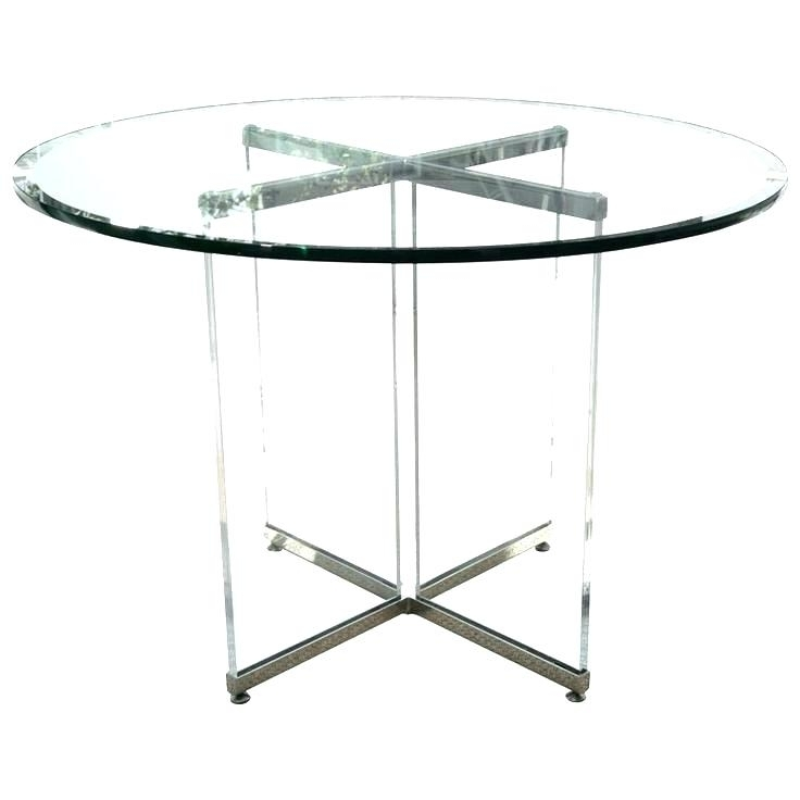 Round Acrylic Table Acrylic Table Top Diy Acrylic Table Rental Chicago Inside 2018 Acrylic Round Dining Tables (View 5 of 20)