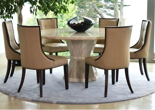 Round Dining Room Tables For 6 – Love Works Intended For Most Current 6 Seat Round Dining Tables (View 16 of 20)