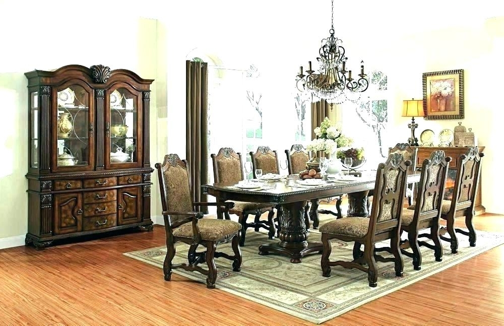 Round Dining Room Tables For 8 Round Dining Room Tables For 8 Dining Throughout Preferred 8 Chairs Dining Tables (View 19 of 20)