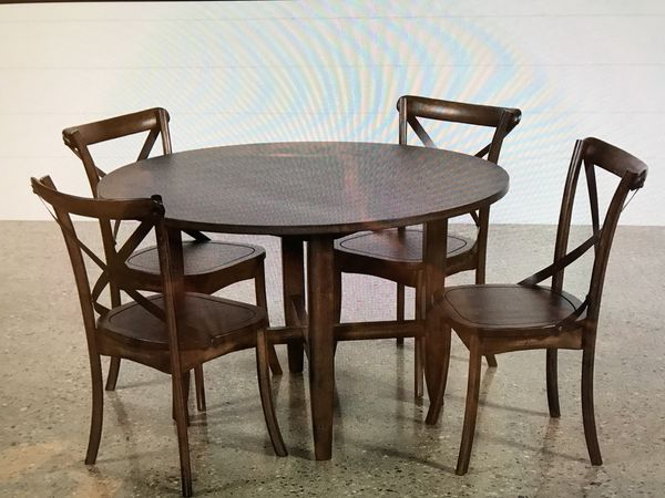 Round Dining Set For Sale In San Diego, Ca – Offerup In Widely Used Grady 5 Piece Round Dining Sets (Gallery 3 of 20)