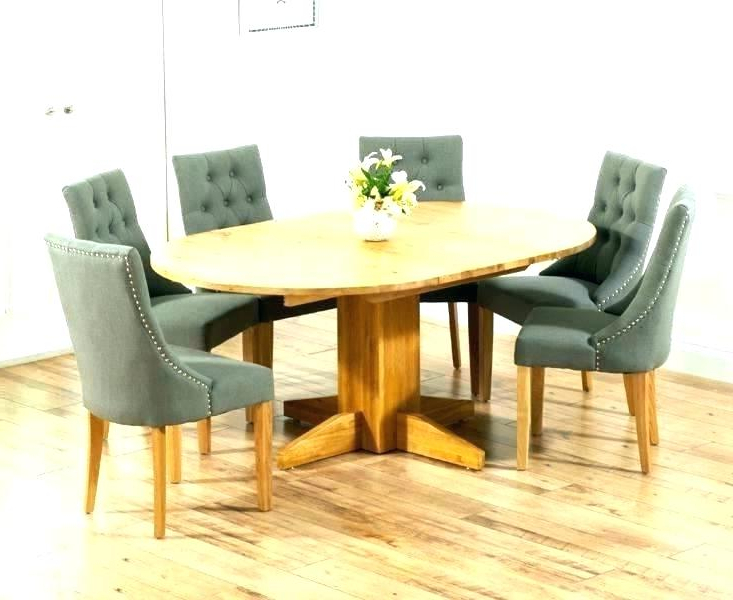 Round Dining Table 6 Chairs – Bcrr With Recent Extendable Dining Table And 6 Chairs (View 16 of 20)