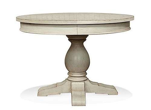 Round Dining Table, Coastal Regarding 2018 Caden Round Dining Tables (View 17 of 20)