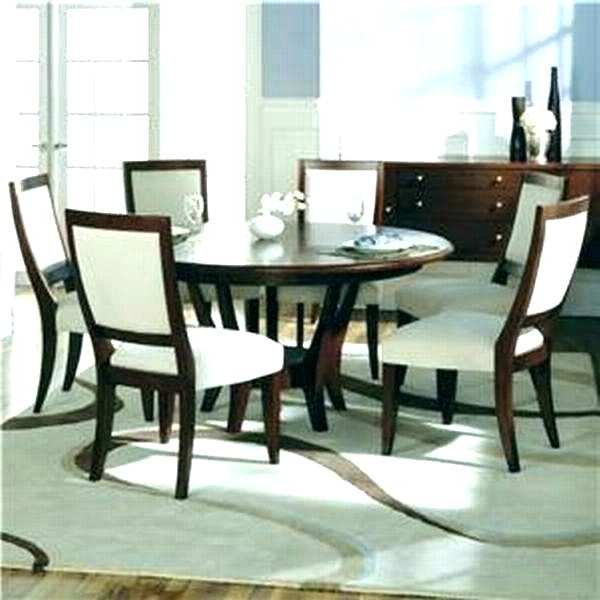 Round Dining Table For 6 – Eesanje With Regard To Popular Round 6 Person Dining Tables (View 3 of 20)