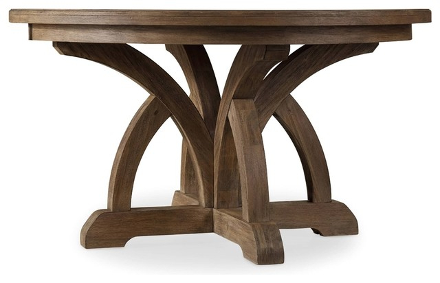 Round Dining Tables Pertaining To Well Known Clarendon Dining Table, Light – Transitional – Dining Tables – (View 15 of 20)