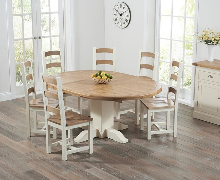 Round Extendable Dining Room Tables (View 14 of 20)
