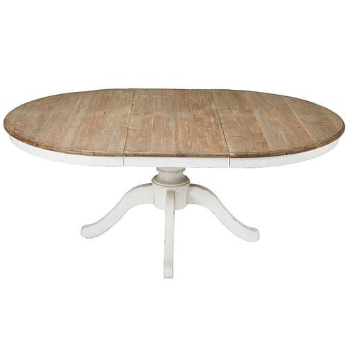 Round Extendable Dining Table L 140Cm (View 14 of 20)