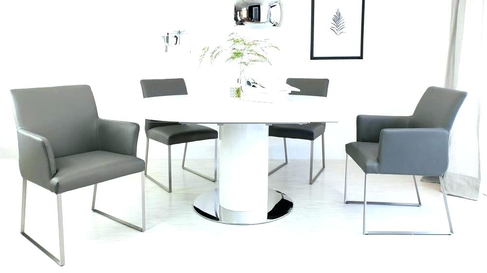 Round Extending Dining Table Sets Cheap Extendable Table And Chairs In Fashionable Circular Extending Dining Tables And Chairs (View 18 of 20)