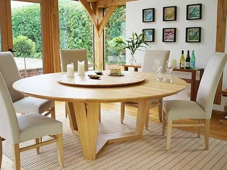 Round Extending Dining Tables (View 15 of 20)