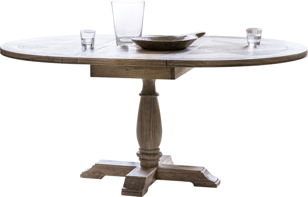 Round Extension Dining Table – Espan Pertaining To Famous Jaxon Grey Round Extension Dining Tables (View 14 of 20)