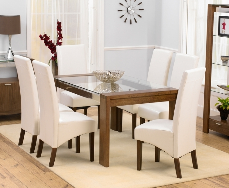Round Glass Dining Table With 6 Chairs Room Ideas Regard To Plans 17 Pertaining To Well Known Cheap Glass Dining Tables And 6 Chairs (View 10 of 20)
