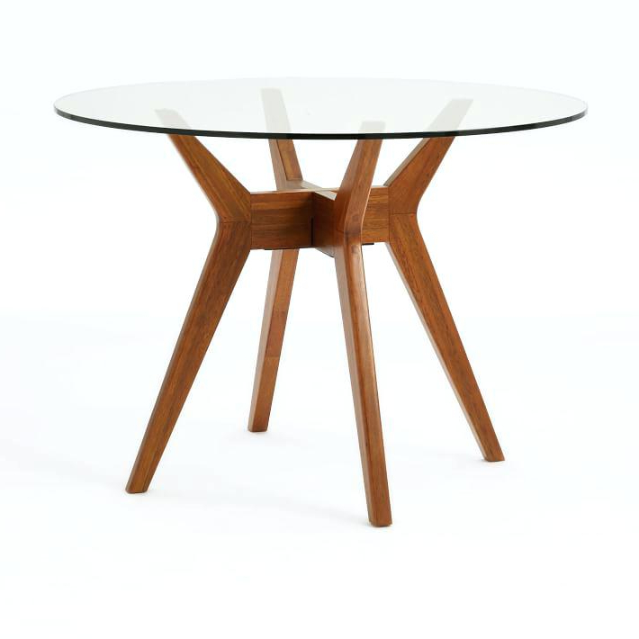 Round Glass Top Dining Tables Glass Top Oak Dining Table Uk – Sakam In Recent Round Glass And Oak Dining Tables (View 16 of 20)
