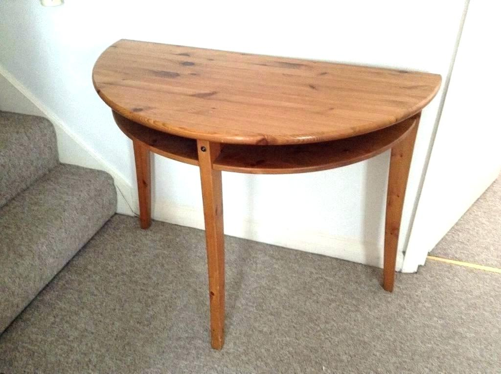 Round Half Moon Dining Tables For Preferred Half Moon Dining Tables Half Round Dining Table Amazing Top Rated (View 14 of 20)