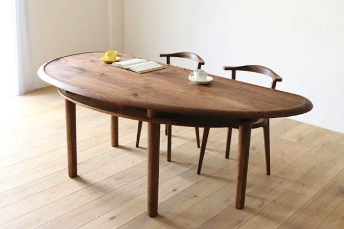 Round Half Moon Dining Tables Within Fashionable Half Round Dining Table – Thetastingroomnyc (Gallery 3 of 20)