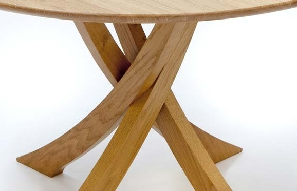 Round Oak Dining Tables – Soulpower Throughout Most Recently Released Circular Oak Dining Tables (Gallery 5 of 20)