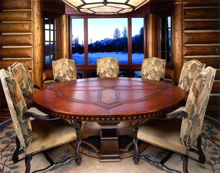 Round Table Seats 12 Round Dining Room Table Seats Bedroom Good For Widely Used Huge Round Dining Tables (Gallery 18 of 20)