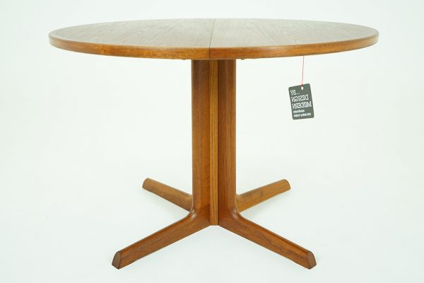 Round Teak Dining Tables For Popular 310 214) Teak Dining Table – Danish Mid Century Furniture (Gallery 8 of 20)