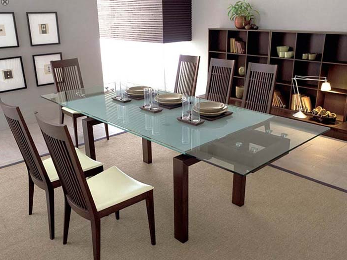 Round With Regard To Preferred Perth Glass Dining Tables (View 18 of 20)
