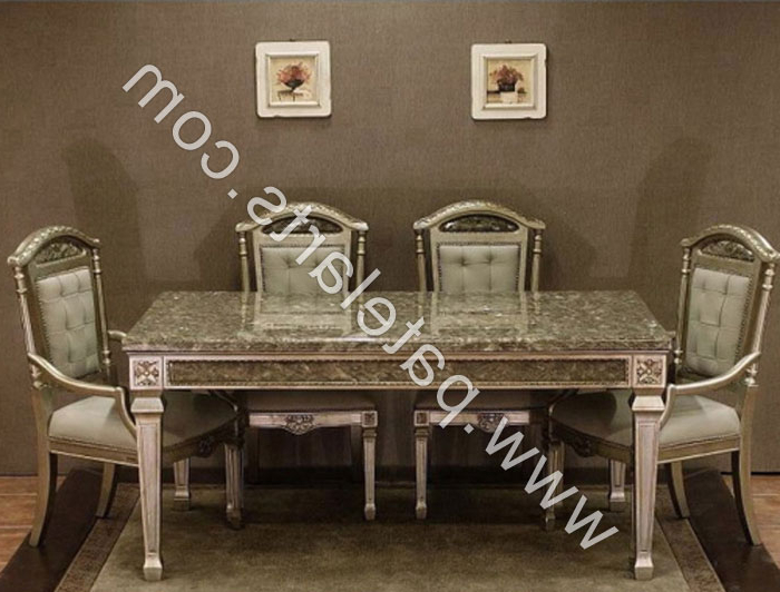 Royal Dining Tables Intended For Well Known Silver Dining Set, Dining Table, Silver Dining Sets, Manufacturers (View 14 of 20)