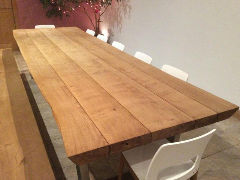Rustic Dining Table Selection Pertaining To Best And Newest Rustic Oak Dining Tables (View 4 of 20)