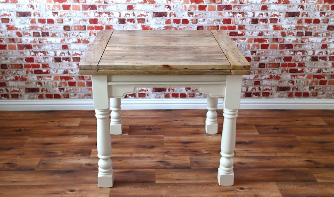 Rustic Farmhouse Range From Forget Me Knot Furniture Of Wiltshire With Regard To Popular Square Extendable Dining Tables And Chairs (View 12 of 20)