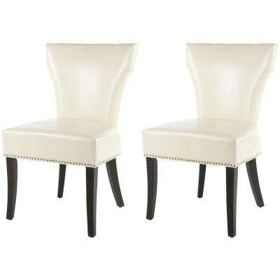 Safavieh – Beige – Chairs – Living Room Furniture – The Home Depot With Regard To Popular Caira Black Upholstered Diamond Back Side Chairs (View 16 of 20)