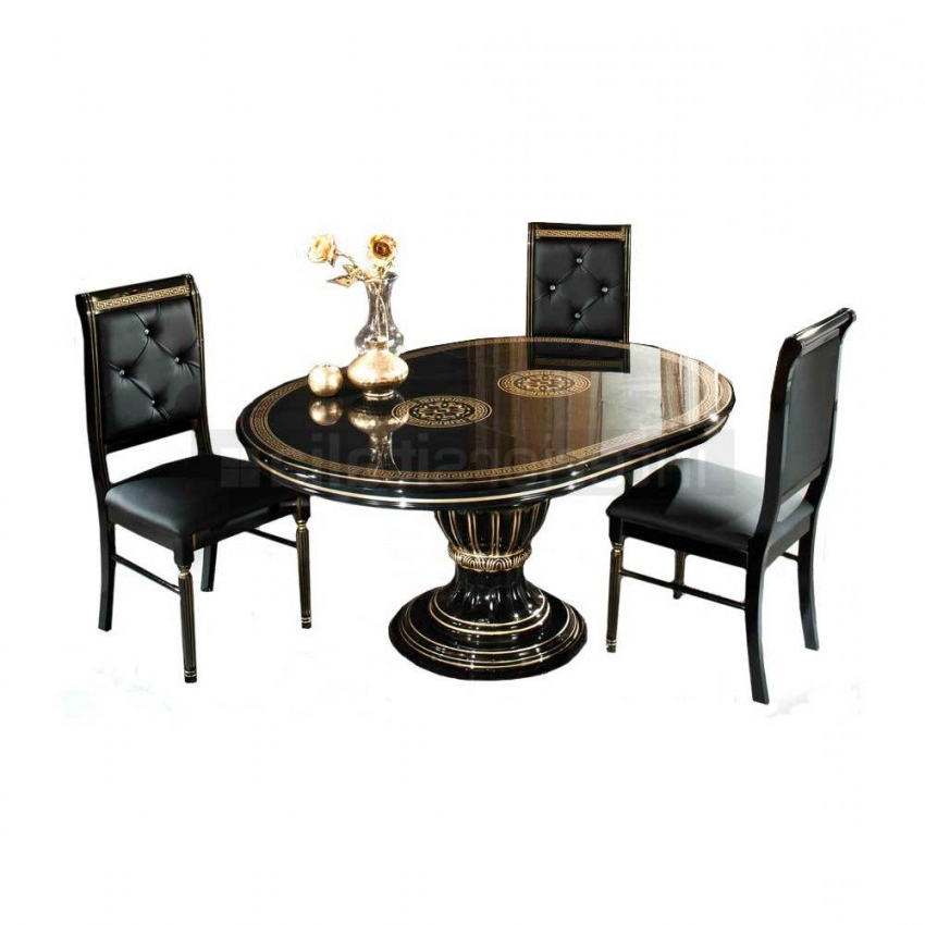 Sale Intended For Favorite Extending Black Dining Tables (View 10 of 20)