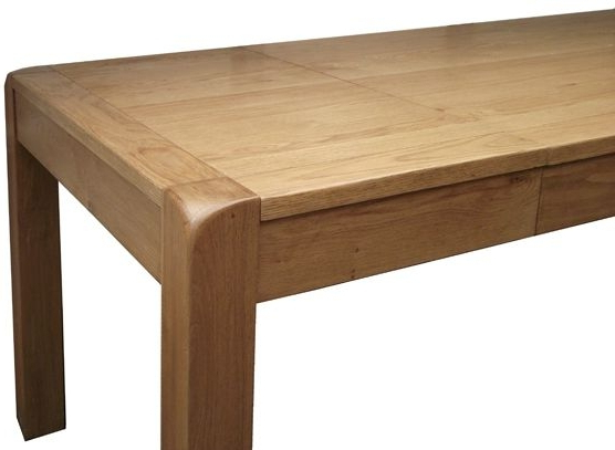 Saltash Oak Small Extending Dining Table – 140cm 180cm With Regard To Most Popular Extending Oak Dining Tables (View 14 of 20)