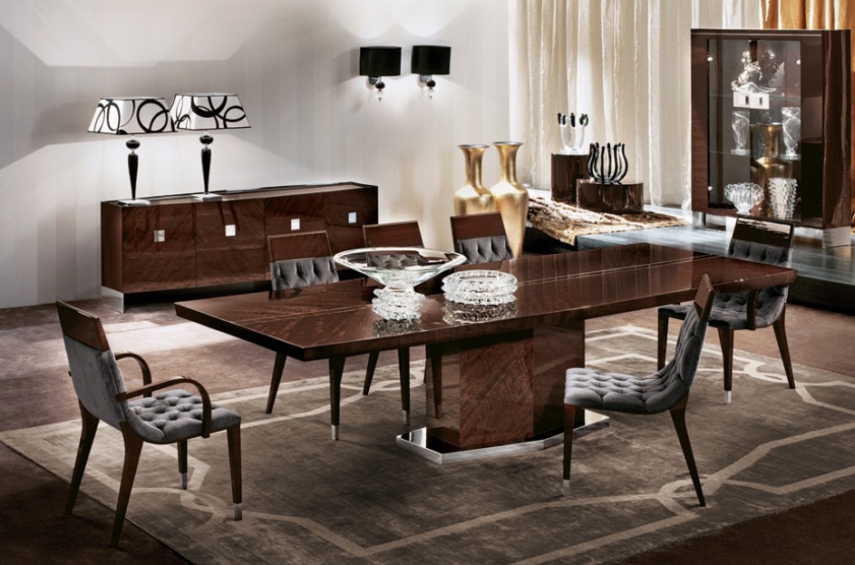 San Fernando Valley Pertaining To Vogue Dining Tables (View 13 of 20)
