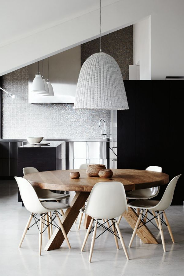 Scandinavian Dining Tables And Chairs Regarding Most Recent Scandinavian Tables Bring Simplicity To The Dining Room – (View 7 of 20)