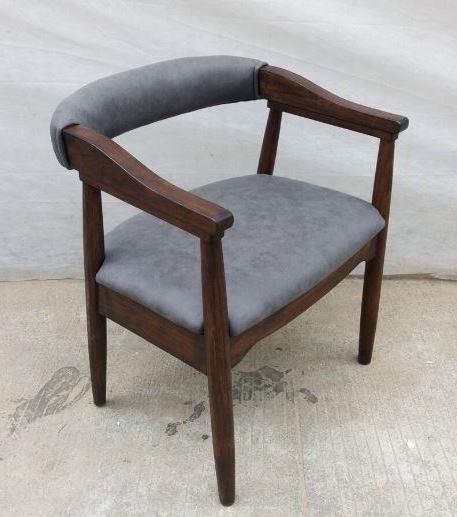 Scott Living Modern Craftsman Grey Armchair (Pack Of 2) (View 14 of 20)