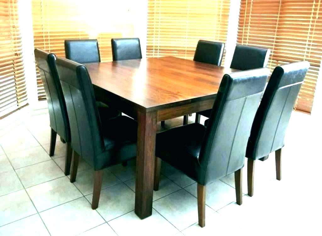 Seat Square Dining Table – Bazaopt Throughout Widely Used Dining Tables Seats  (View 17 of 20)