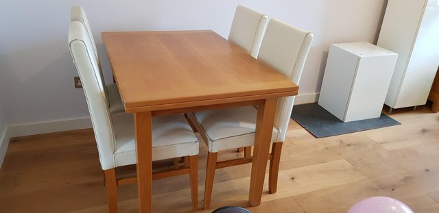 Second Hand Oak Dining Chairs With Regard To Newest Oak Dining Table And Chairs – Second Hand Household Furniture, Buy (View 16 of 20)