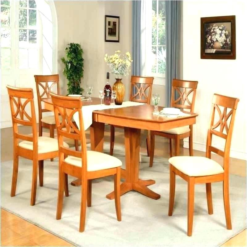 Second Hand Oak Dining Chairs Within 2018 Second Hand Solid Oak Dining Table And Chairs – Architecture Home (Gallery 2 of 20)