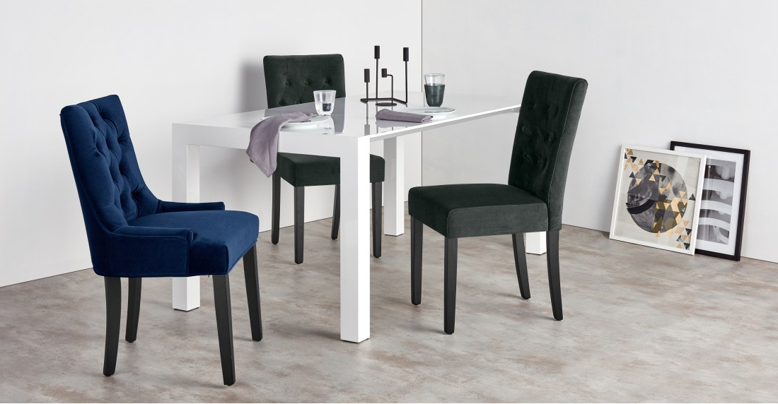 Featured Photo of Velvet Dining Chairs