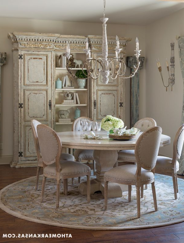 Shabby Chic Cream Dining Tables And Chairs Regarding Well Liked 107 Best Tables & Chairs (View 13 of 20)