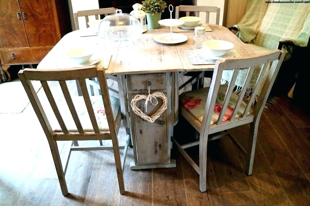 Shabby Chic Dining Chairs Pertaining To Most Recent Shabby Chic Dining Room Sets Shabby Chic Dining Set Room Sets (Gallery 18 of 20)