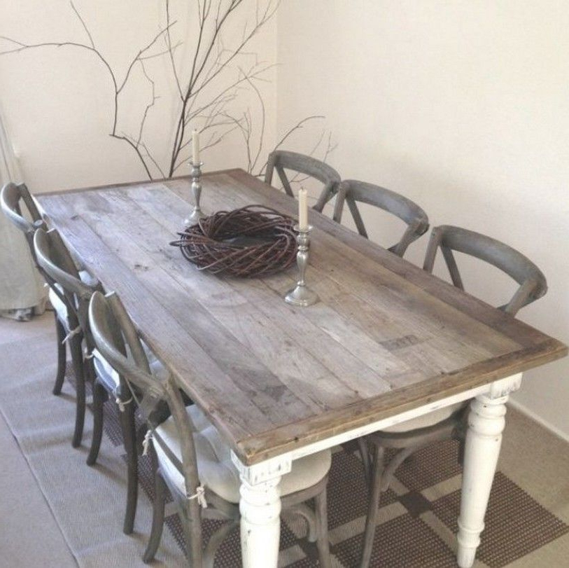 Shabby Chic Dining Sets For Popular Shabby Chic Dining Table Chairs And Bench Home Design Fireplace (View 15 of 20)