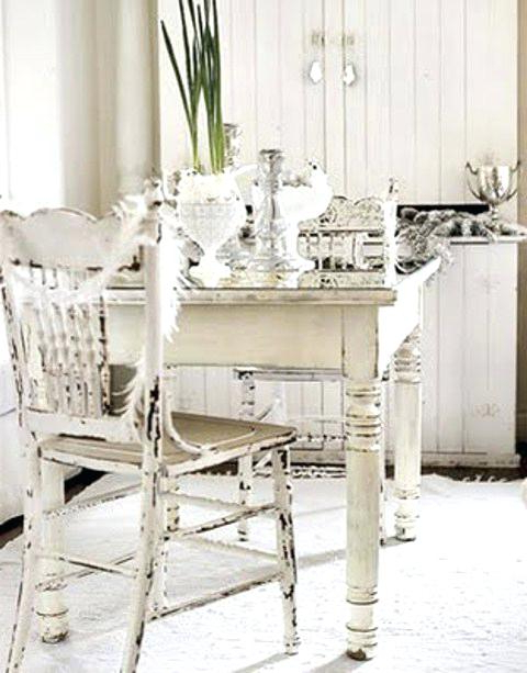 Shabby Chic Dining Sets Intended For Best And Newest Shabby Chic Dining Table And Chairs Cheap Shabby Chic Dining Rooms (View 16 of 20)